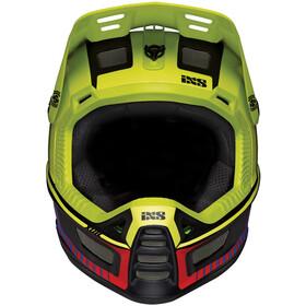 IXS Xult Fullface Helm, black/blue/lime